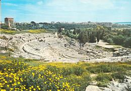 Siracusa - Teatro Greco E Panorama - Greek Theatre And Panorama - Ancient - 110 - Italy - Unused - Siracusa