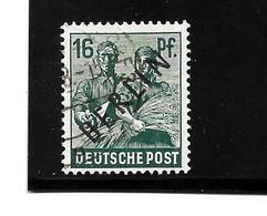 BERLIN Mi.Nr. 7a - 16 Pfg.  Schwarzaufdruck O - Oblitérés