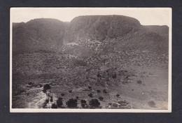 Carte Photo Campagne Du Maroc Djebel (à Identifier ) Vue Prise De Timoulilt Entrée Vallée Menant Au Col De Tizi R'nim - Altri