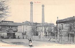 METIERS Industrie Usine - 81 - CARMAUX : La Verrerie Sainte Clotilde - CPA - Tarn - Carmaux