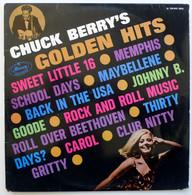 Chuck Berry's Golden Hits LP 33 Tours France Biem Mercury 124033 - Rock