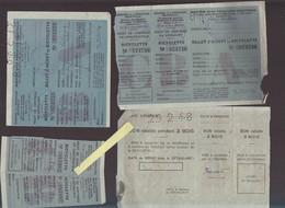 Rationnement Post Guerre 39/45 / Billet D'achat De Bicyclette / Ministere De La Production Industrielle - Other