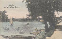 AK - Wien Floridsdorf - Alte Donau - Blick Vom Heutigen Gasthaus BIRNER - 1917 - Altri