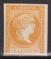 1859 Edifil NE1 - NO EXPENDIDO Marquillado M. GALVEZ Madrid Con Goma Original - Unused Stamps