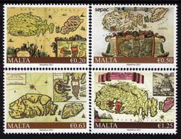 Malta - 2021 - SEPAC - Historical Maps Of Malta - Mint Stamp Set - Malta