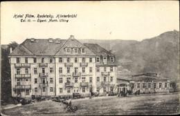 CPA Hinterbrühl In Niederösterreich, Blick Auf Hotel Radetzky, Inh. Matth. Ulbing - Altri
