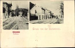 CPA Hinterbrühl In Niederösterreich, Posthaus, Platz - Altri