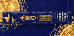 Greece - 2021 - Euromed - Handicraft Jewelry Of The Mediterranean - Mint Stamp Sheetlet - Ongebruikt