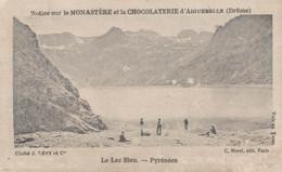 CHOCOLAT D'AIGUEBELLE LE LAC BLEU PYRENEES - Aiguebelle