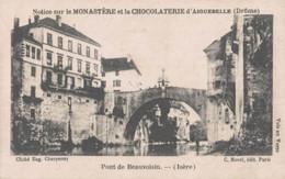 CHROMO CHOCOLAT D'AIGUEBELLE PONT DE BEAUVOISIN ISERE - Aiguebelle