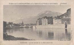 CHROMO CHOCOLAT D'AIGUEBELLE GRENOBLE LES QUAIS ET LE MOUCHEROTTE - Aiguebelle