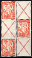 GERMANY (1933) Scene From Die Walkure. Two Different Configurations With Gutter. Scott No B53. - Nuevos