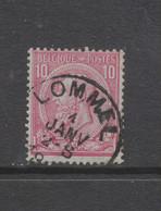 COB 46 Oblitération Centrale LOMMEL - 1884-1891 Leopold II