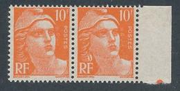 EC-560: FRANCE: Lot  Avec N°722f** (boucle D'oreille) - 1945-54 Marianna Di Gandon