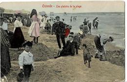 Ostende Les Plaisirs De La Plage Circulée En 1907 - Oostende
