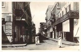 EGYPT SUEZ The Comar Street Animation Rue Colmar à Suez - Suez