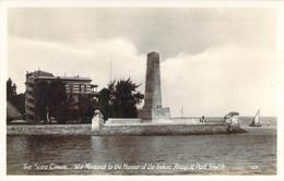 EGYPT Suez Canal War Memorial To The Honour Of The Indian Army At Port Tewfik Monument Commémoratif à L'Armée Indienne - Suez