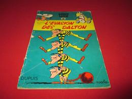 Lucky Luke  L'évasion Des  Daltons  Eo 1960   Dédicaces  Morris  Et Goscinny - Lucky Luke