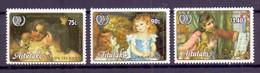 1985, Aitutaki, International Youth Year, Full Set Of 3 Stamps, MNH, Very High Cat. Value. - Aitutaki