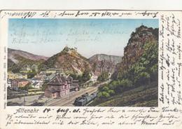 7492) ALTENAHR - Tolle Alte AK Mit ZUG U. BAHNHOF - 14.08.1901 !! - Bad Neuenahr-Ahrweiler