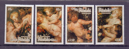 1984, Aitutaki, Christmas, Full Set Of 4 Stamps, MNH, Very High Cat. Value. - Aitutaki