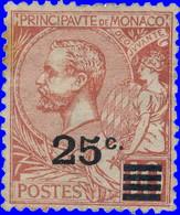 Monaco 1922. ~ YT 52* - 25/10 C. Albert 1er - Unused Stamps