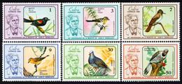 Cuba - 1986 - Birds Of Cuba - 90th Death Anniversary Of Juan Gundlach - Mint Stamp Set - Nuevos