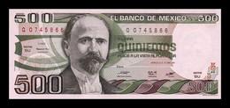 México 500 Pesos 1981 Pick 75a Serie AJ SC UNC - Mexiko