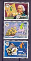 1984, Aitutaki, Ausipex'84, Full Set Of 3 Stamps, MNH, Very High Cat. Value. - Aitutaki