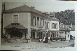 Eure (27) - CPA - Bizy-Vernon - A L'orée De La Forêt Hôtel Restaurant Quervel - Non Voyagée - Vernon