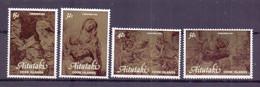 1981, Aitutaki, Christmas, Full Set Of 4 Stamps, MNH. - Aitutaki