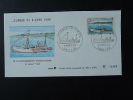 FDC Bateau Ship Journée Du Timbre 1969 Cote D'Ivoire Ref 74112 - Ships