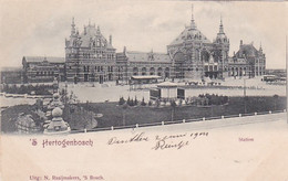 4844503'S Hertogenbosch, Station 1904. (minuscule Vouwen In De Hoeken) - 's-Hertogenbosch