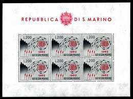 1962 SAN MARINO BF24 MNH ** - Blocks & Sheetlets