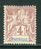 MARTINIQUE- Y&T N°33- Oblitéré - Used Stamps