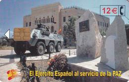 SPAIN - Army, El Ejercito Espanol Al Servicio De La PAZ(Bosnia), Tirage 50200, 07/02, Used - Army