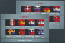 Soccer Football 2008 Austria KB 2735/50 UEFA European Championship MNH ** - Eurocopa (UEFA)