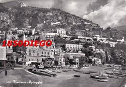 100 POSITANO - SPIAGGIA F/GRANDE VIAGGIATA  1961 ANIMATA - Salerno
