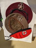 BASCHI CORPI MILITARE CROCE ROSSA ITALIANA - Headpieces, Headdresses