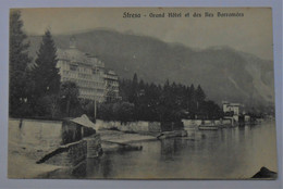 CPA Stresa - Grand Hôtel Et Iles Borromées - Verbania