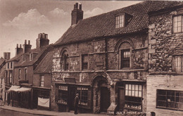 """LINCOLN, Lincolnshire, England, 1900-1910s; """"The Jew's House"""" - Lincoln"""