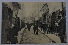 CPA Lithuanie, Wilno - Vilnius / Rue Jatkowa - Quartier Juif - Judaika