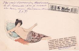 Cartolina  Pubblicitaria Giornale Le Matin Viaggiata 1904 - Advertising