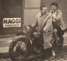 C.1950 Moto  Photo C.8x11cm - Cars