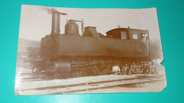 Photo Locomotive En Gare De ROGNAC En 1912 ............... PHI-Caisse2 - Autres Communes