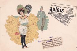 Cartolina  Pubblicitaria Giornale Gaulois Viaggiata 1904 - Toulouse Lautrec, Pittore Francese - Advertising