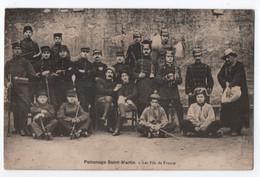 ABAUCOURT PAR NOMENY (54) : PATRONAGE SAINT MARTIN - LES FILS DE FRANCE - PELERINS - TROUPE - ECRITE EN 1930 - 2 SCANS - - Other Municipalities