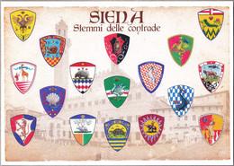 SIENA PALIO STEMMI DELLE CONTRADE - Siena