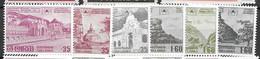 Sri Lanka Unesco Set Mnh ** 4.2 Euros 1980 - Sri Lanka (Ceylon) (1948-...)