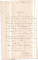 Dépt 77 - VILLE De LAGNY-SUR-MARNE - Lettre Manuscrite Signée Par Le Curé Doyen Le 25 Février 1899 - Lagny Sur Marne